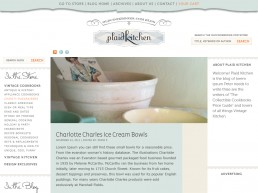 Cooking Blog Brand and Graphic Design
