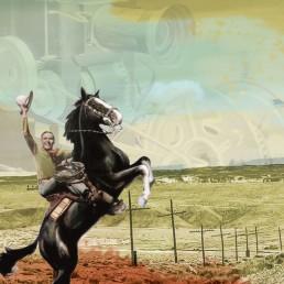 Las Vegas NM Film Trail Illustration